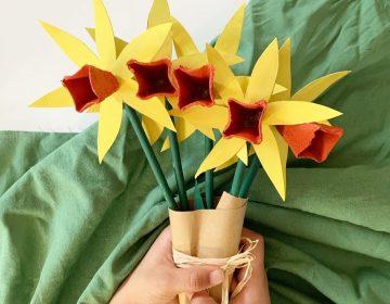 DIY : Un joli bouquet de fleurs spécial Fête des Grands-mères
