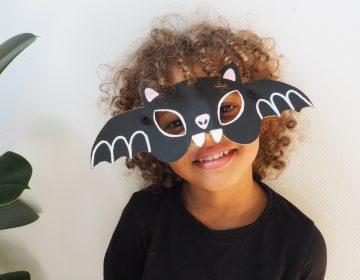 DIY Masque pour Halloween : transforme-toi en chauve-souris !